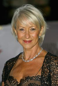 Helen Mirren at the National Movie Awards held at the Royal Festival Hall.