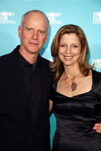 Heather Mitchell and Guest at the Australian premiere of
