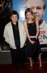 Raymond and Lorraine Nicholson at the premiere of