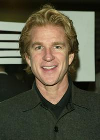 Matthew Modine at the knicks bowl 5 benefit for the Red for Children Foundation.