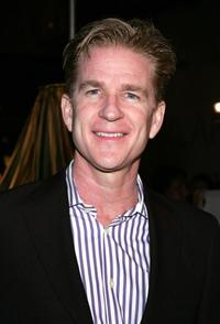 Matthew Modine at an exhibition to celebrate designer Miuccia Prada's opening of