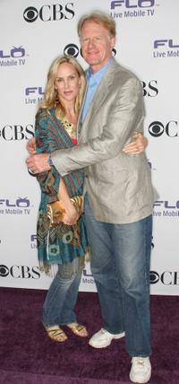 Rachelle and Ed Begley, Jr. at the CBS Comedies' Season premiere Party.
