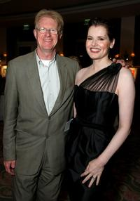 Ed Begley, Jr. and Geena Davis at the USA Today Honors Geena Davis As This Years Hollywood Hero.
