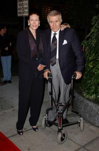 Ricardo Montalban and Georgiana Young at the Tony Martin's 90th birthday party.