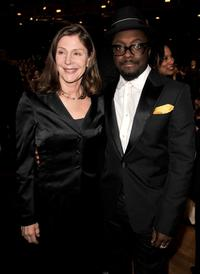 Lauren Shuler Donner and will.i.am at the 40th NAACP Image Awards.