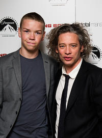 Will Poulter and Dexter Fletcher at the after party of