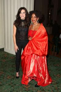 Martina McBride and Melba Moore at the 2009 Broadcasters Foundation of America Golden Mike benefit gala.