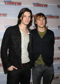 Ben Barnes and William Moseley at the Prince Caspian panel preview at New York ComicCon.