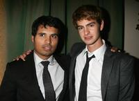 Michael Pena and Andrew Garfield at the after party of the premiere of
