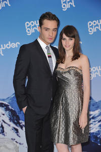 Ed Westwick and Felicity Jones at the Germany premiere of