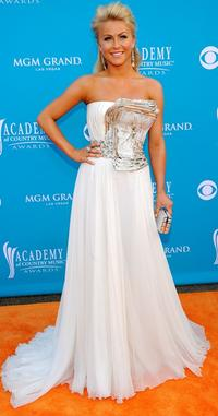 Julianne Hough at the 45th Annual Academy of Country Music Awards.
