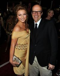 Julianne Hough and producer Donald De Line at the premiere of