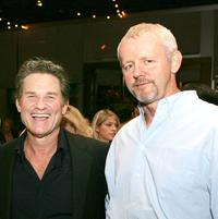 Kurt Russell and David Morse at the after party of the premiere of
