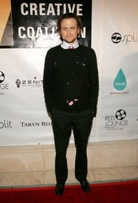 David Moscow at the Reel Lounge Gala Benefit.