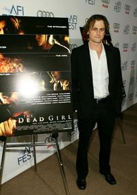 David Moscow at the world premiere of