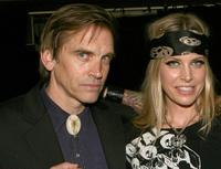 Bill Moseley and Sheri Moon Zombie at the fuse Fangoria Chainsaw Awards.