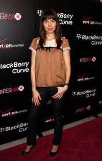 Whitney Cummings at the Launch party of New BlackBerry 8330 Pink Curve exclusively from Verizon Wireless in California.