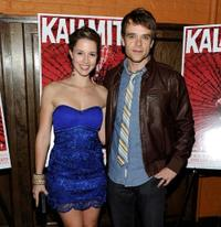 Alona Tal and Nick Stahl at the premiere of
