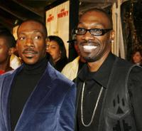 Eddie Murphy and Charlie Murphy at the premiere of