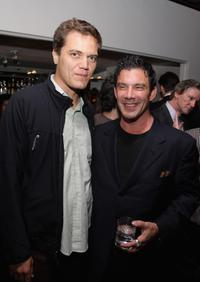 Michael Shannon and Michael Cerenzie at the after party of