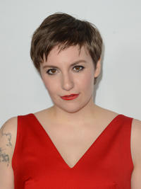 Lena Dunham at the California premiere of