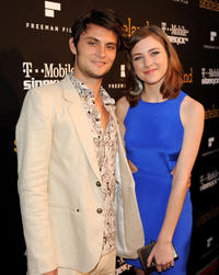 Shiloh Fernandez and Hayley Ramm at the California premiere of