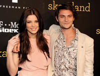 Ashley Greene and Shiloh Fernandez at the California premiere of