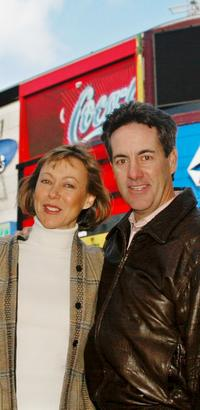 Jenny Agutter and David Naughton at the 21st anniversary and re-release of