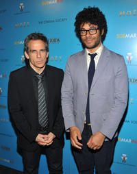 Ben Stiller and Richard Ayoade at the New York premiere of