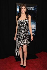 Alexandra Daddario at the premiere of