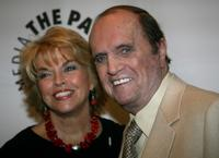 Bob Newhart and Pat Mitchell arrives at the Paley Center for Media and TV Land salute of