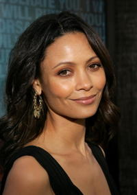 """Thandie Newton at the premiere of """"Crash"""" in Beverly Hills, California."""