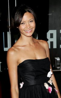 Thandie Newton at the premiere of
