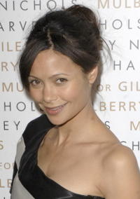 Thandie Newton at the Mulberry for Giles Bags - Launch Party in London, England.