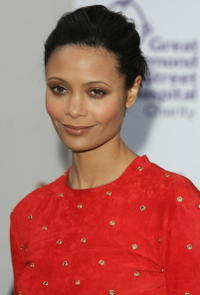 Thandie Newton at The F1 Party in London, England.