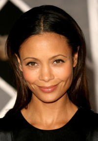 Thandie Newton at the Hollywood premiere of