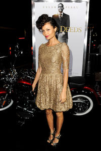 Thandie Newton at the California premiere of