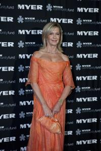 Olivia Newton-John at the Myer Precious Metal Ball.