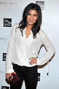 Jessica Szohr at the Jimmy Choo Fragrance launch in New York.