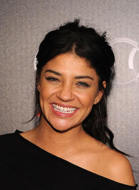 Jessica Szohr at the private dinner hosted by Audi during the Super Bowl XLV Weekend in Dallas.