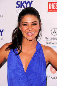 Jessica Szohr at the Official Kick Off party during the Merecedes-Benz Fashion Week Swim 2012.