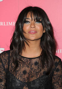 Jessica Szohr at the Us Weekly Hot Hollywood party in California.