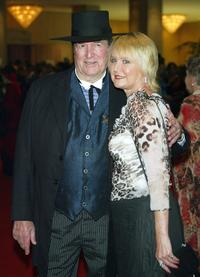 Hugh O'Brian and Virginia Barber at the 21st Annual Golden Boot Awards.