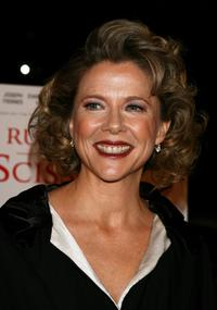 Annette Bening at the premiere of