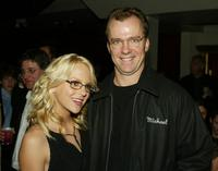 Anna Faris and Michael O'Keefe at the after party of the premiere of
