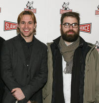 Trevor Matthews and Patrick White at the premiere of