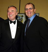 William Bratton and Ed O'Neill at the Los Angeles Police Historical Society's
