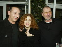 Paul Rubens, Bernadette Peters and Ed O'Neill at the world premiere of