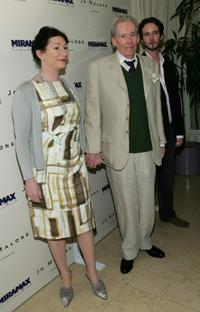 Peter O'Toole, daughter Kate and son Lorcan at the pre-Oscar party of