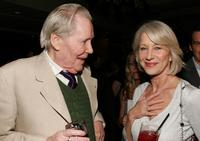 Peter O'Toole and Jodie Whittaker at the pre-Oscar party for the films